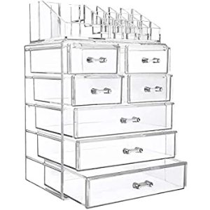 From $23.98InnSweet Acrylic Makeup Organizer Cosmetic Storage Drawers,