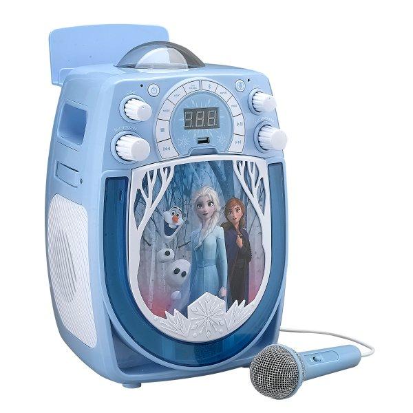 冰雪奇缘II 儿童卡拉OK机,带雪花投影效果
