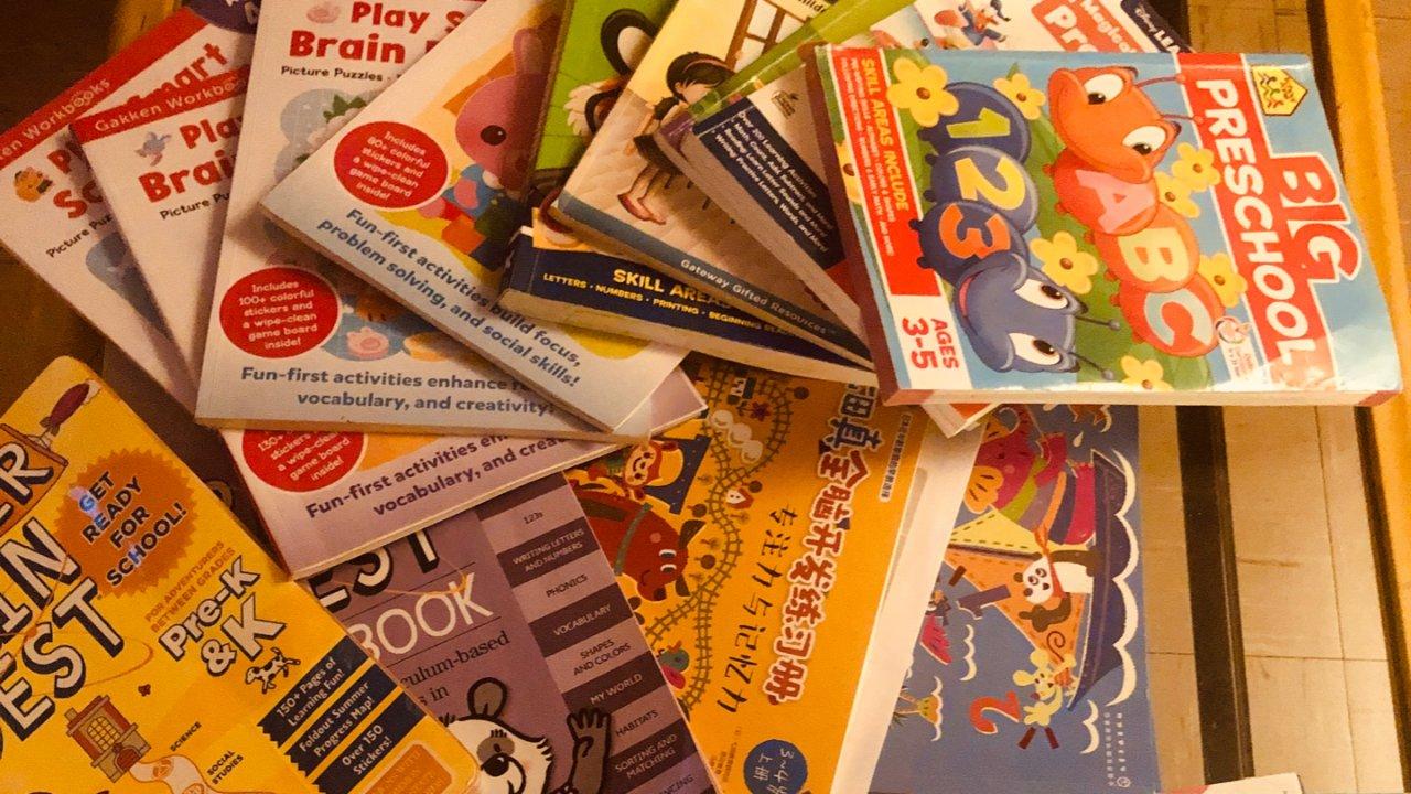 和3岁的娃娃一起成长,美国学习资源推荐-练习册