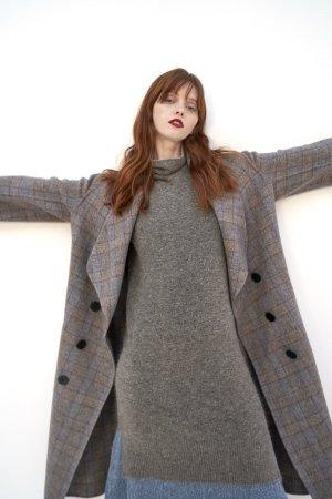 QUAINT 2019 AW Runway Maureen Checker Coat