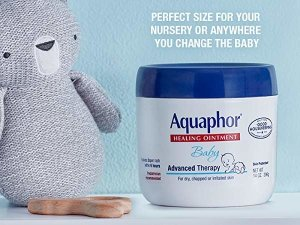 Amazon.com: Aquaphor Baby Healing Ointment - Advance Therapy for Diaper Rash, Chapped Cheeks and Minor Scrapes - 14. oz Jar: Health & Personal Care