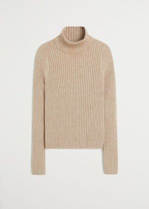 Ribbed recycled polyester sweater - f foSweaters Women | Mango USA