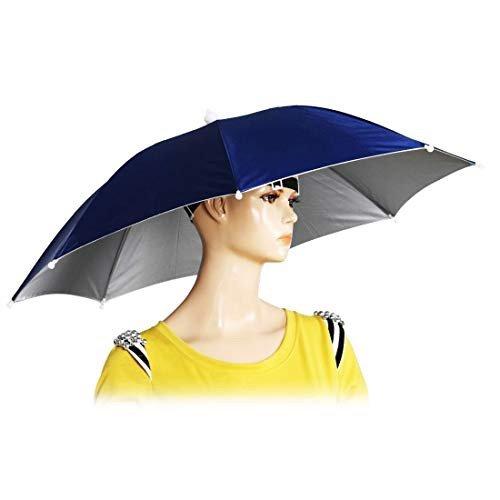 Chinmor  头戴式雨伞帽子 户外遮阳垂钓神器 近期好价