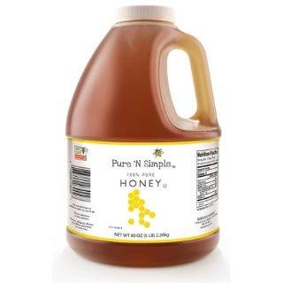 5磅 大桶家庭装 仅$12.48Pure 'N Simple 蜂蜜  煲养颜甜汤、做甜点、喝茶喝咖啡