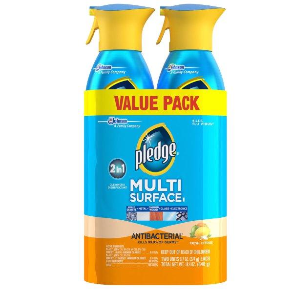 多用途家用清洁喷剂 2罐装