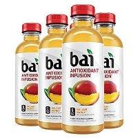 Bai 芒果口味果汁调味水 18oz 6瓶
