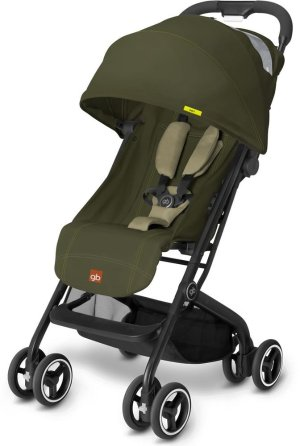 GB Qbit Stroller - Lizard Khaki