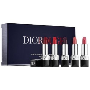 $50.00 DIOR Rouge Dior Mini Lipstick Set limited edition