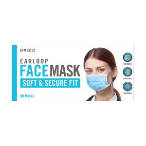 $11.99Earloop Style Face Mask, 50 Disposable Masks
