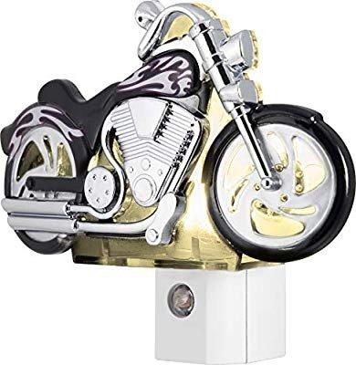 摩托车造型LED小夜灯