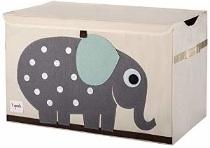 Amazon.com: 3 Sprouts Kids Toy Chest - Large Storage for Boys and Girls Room: Baby