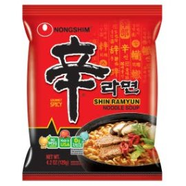Amazon.com : NongShim Shin Ramyun Noodle Soup, Gourmet Spicy, 4.2 Ounce (Pack of 20) : Ramen Noodles : Gateway