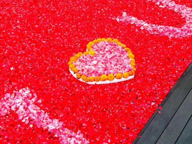 峇里島-花瓣游泳池,羅曼蒂克Vil...