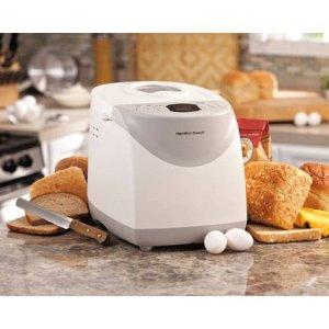 Hamilton Beach HomeBaker 2 Pound Automatic Breadmaker with Gluten Free Setting   Model# 29881 - Walmart.com