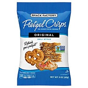 $9.97Snack Factory Pretzel Crisps Original Flavor, 3oz, 8pks