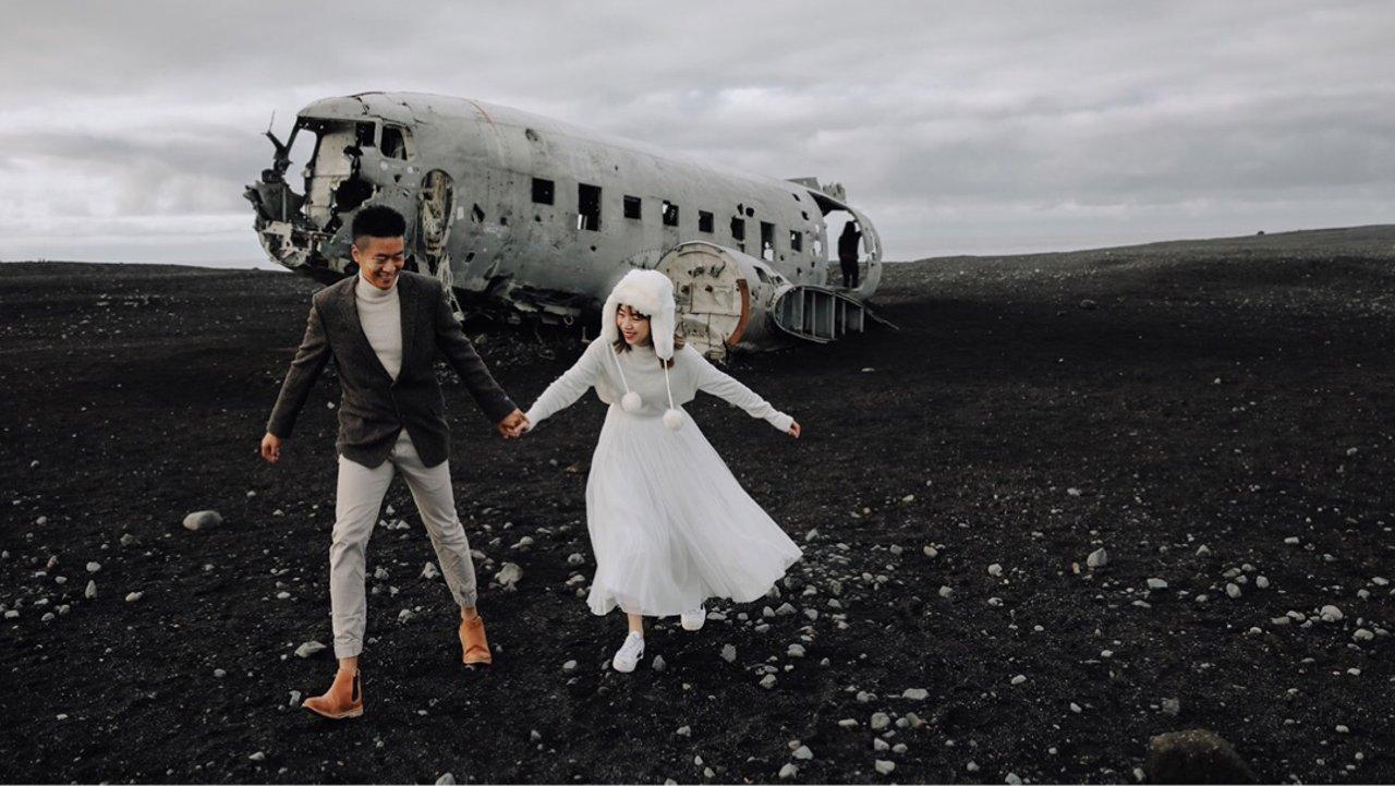 冰岛自拍婚纱全攻略