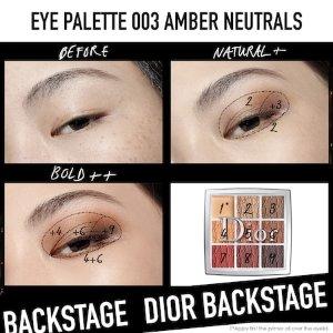 BACKSTAGE Eyeshadow Palette - Dior | Sephora