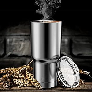 Atlin Tumbler [30 oz. Double Wall Stainless Steel Vacuum Insulation] Travel Mug