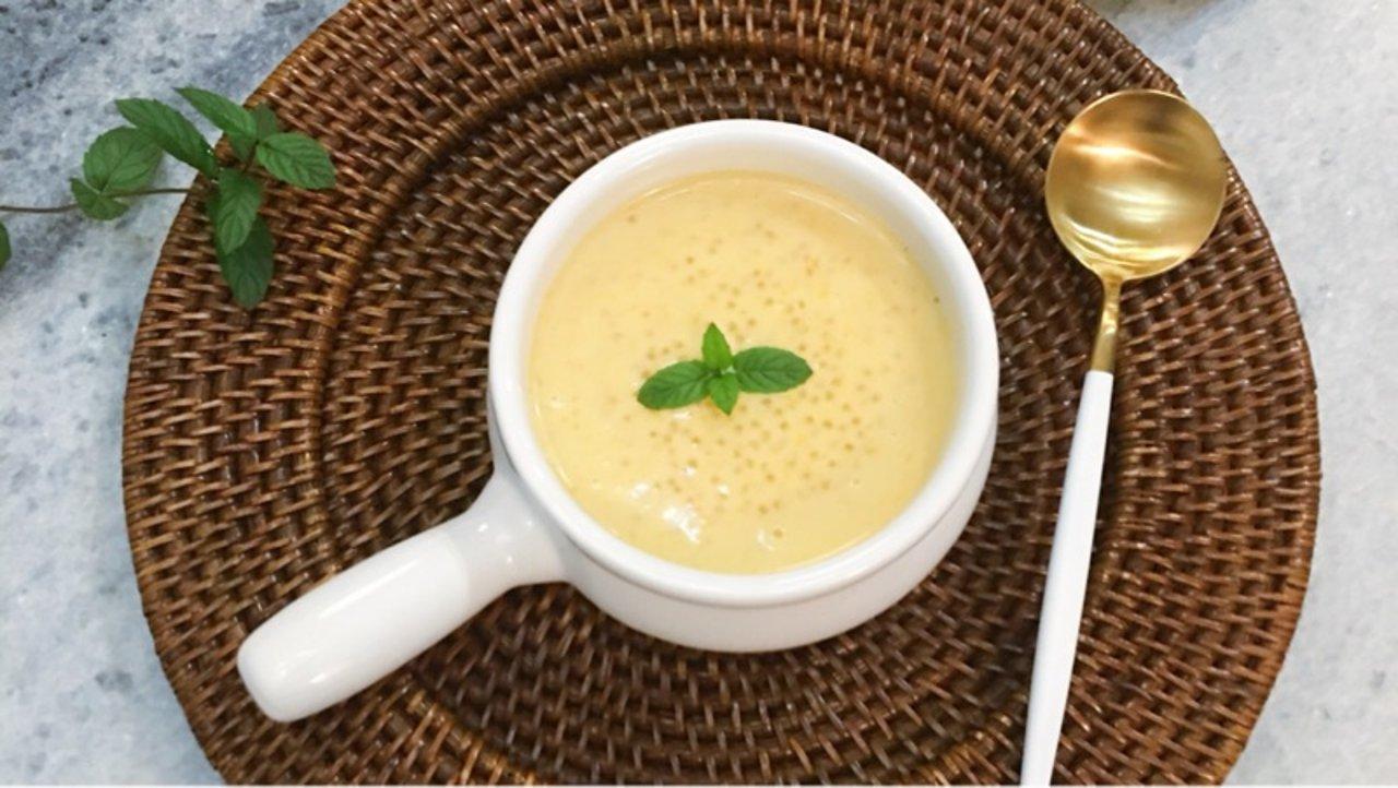 ✨南瓜甜品DIY  巨好喝的椰汁南瓜西米露&香甜软糯的椰丝南瓜牛奶小方