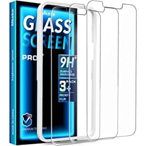 Mkeke Screen Protector for iPhone 13 Pro Max 3-Pack