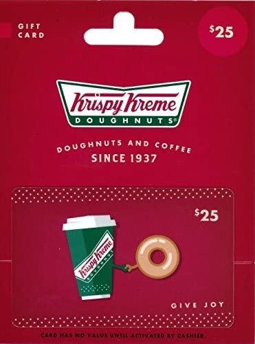 Krispy Kreme $25礼卡限时特惠