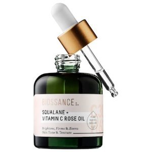 Squalane + Vitamin C Rose Oil - Biossance | Sephora