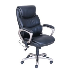 True Innovations Massage Office Chair with Heated Vibration and Memory Foam