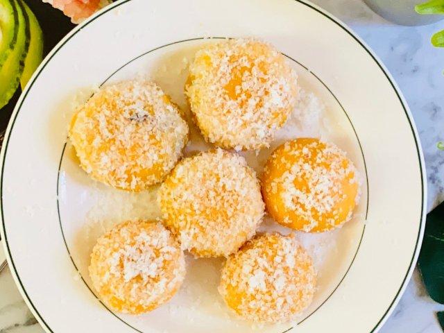 红薯椰蓉球