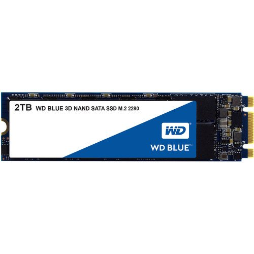 Blue 3D NAND 2TB M.2 SATA III 固态硬盘
