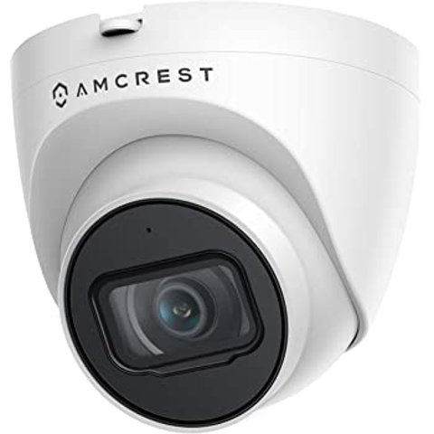 Amcrest 5MP UltraHD Outdoor Security IP Turret PoE Camera
