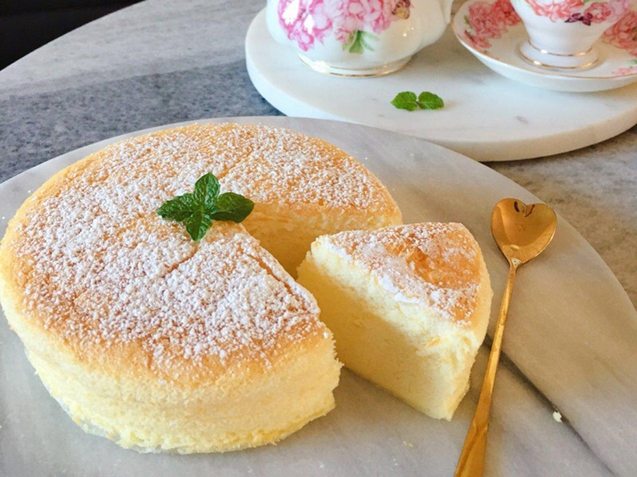 留恋那一份小清新入口即化的日式轻芝士蛋糕