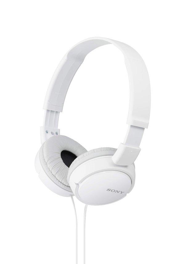 Sony MDRZX110/WHI ZX 可折叠头戴式耳机