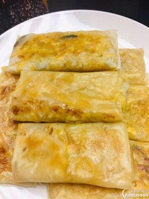 自制美味卷心菜盒子(煎春饼)-北美省钱快报攻略