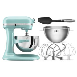 Kitchenaid Pro 5系大马力5夸脱厨师机 含多款配件 多色可选