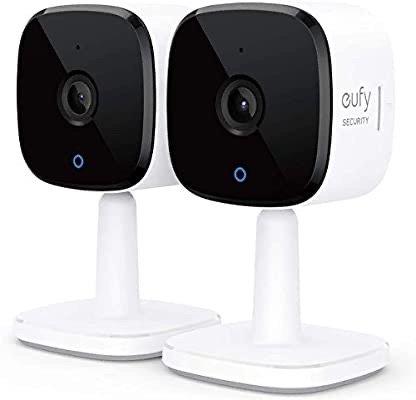 Security 2K 室内高清智能摄像头 2只装