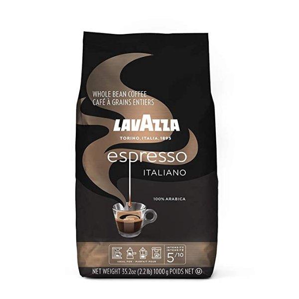 Lavazza Espresso Italiano 中度烘焙咖啡豆 2.2磅装