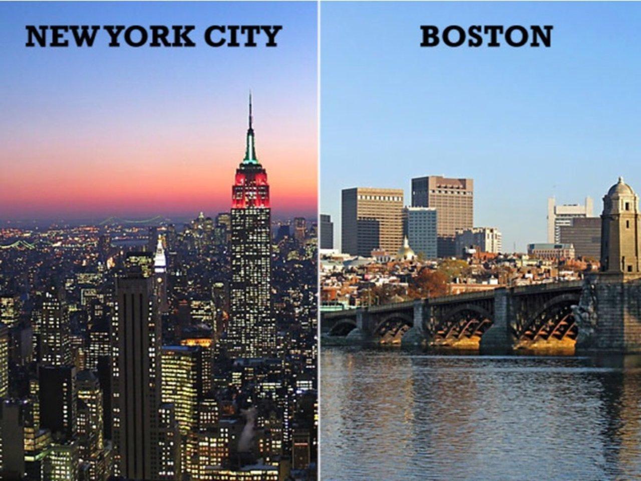 在这个汽车上的国家,我是怎么从纽约去的波士顿