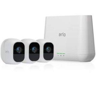 Netgear Arlo Pro 2 Home Security Camera System (3 FHD Cameras)