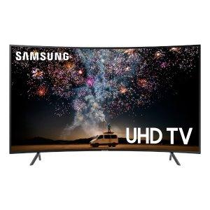 $617.99 接近黑五价 包邮SAMSUNG RU7300 曲面4K 超高清 HDR 智能电视