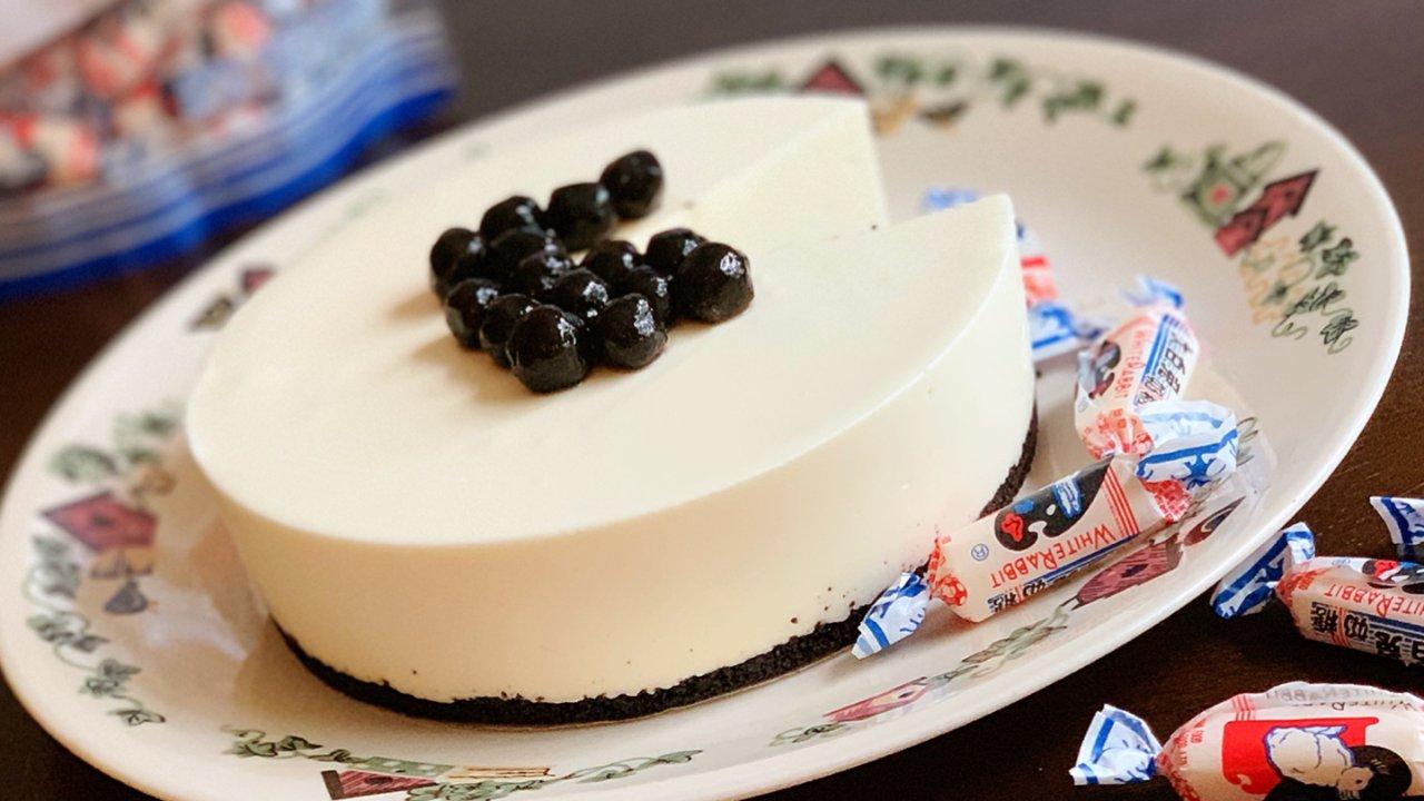 大白兔慕斯蛋糕