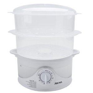 $19.96Aroma 6 Quart Dishwasher Safe Food Steamer, 4 Piece