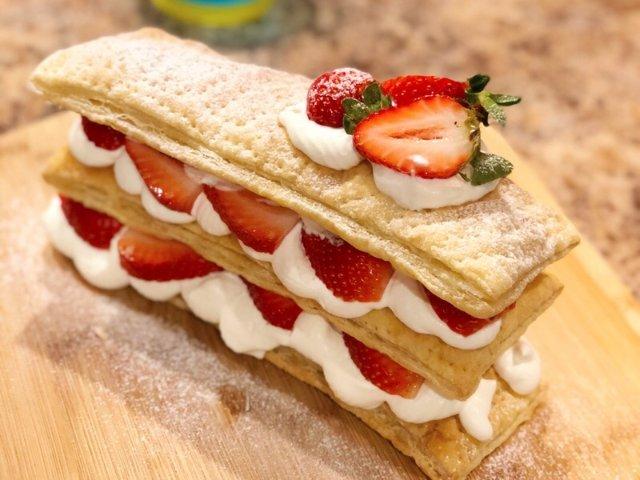 快手拿破仑蛋糕