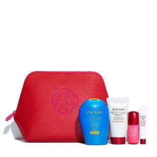 $40(价值$99)Shiseido 蓝胖子套装上新 超好价