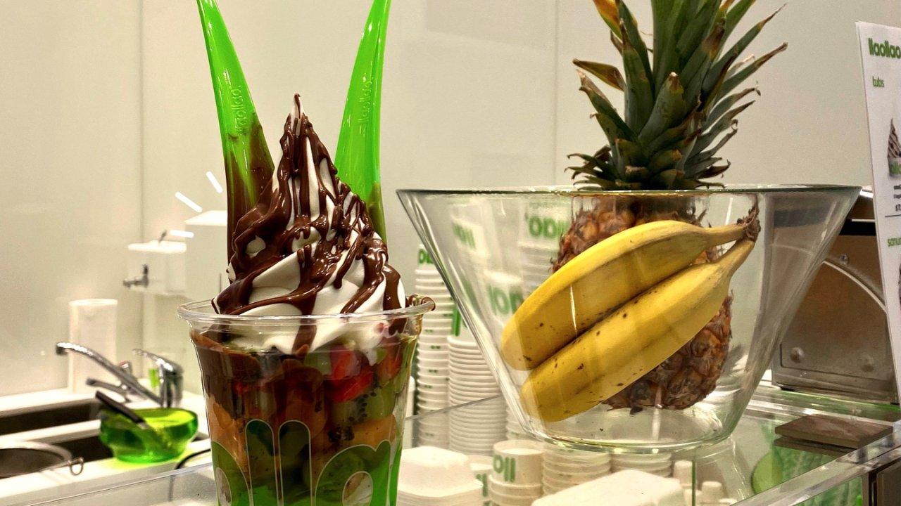 酸酸甜甜就是我🍉QV里的酸奶水果冰淇淋