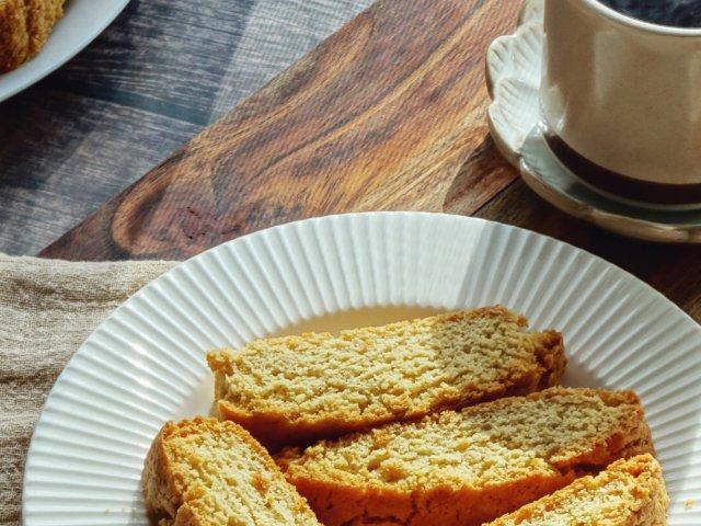 食谱分享|自制意式小饼干Biscotti
