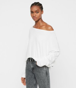 ALLSAINTS UK: Womens Rita Top (chalk_white)