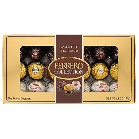 Ferrero 什锦巧克力礼盒装半价特惠 18颗装