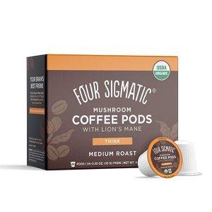 $15.24 每个仅$0.6Four Sigmatic 蘑菇胶囊咖啡 24个装