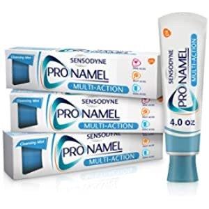 强化珐琅质美白抗过敏感牙膏 3支装