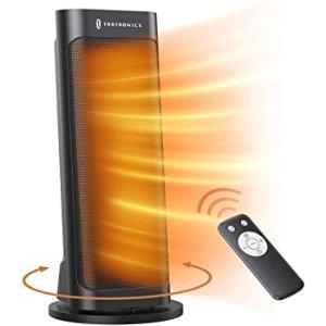 Taotronics 1500瓦速热超静音陶瓷取暖器 带遥控可定时